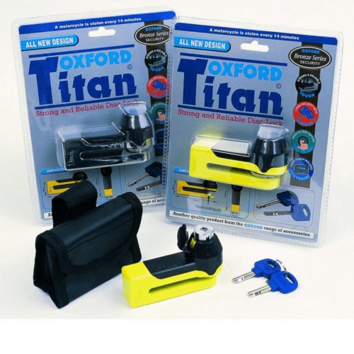 Oxford Titan Strong & Stable Disc Lock